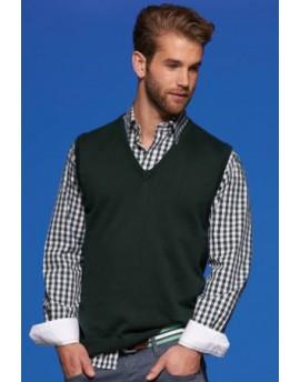 James & Nicholson Férfi V-nyakú ujjatlan pulóver